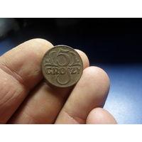 5 грошей 1923 год речепосполита лупа с подсветкой 10 кратное увеличение купить