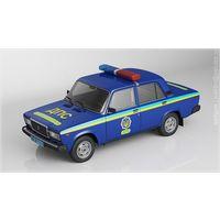 Коллекция Полицейские машины мира ВАЗ-2107 (Милиция Украины) 61 номер