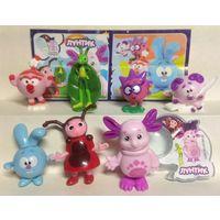 Продам серию игрушек Смешунтики из киндера