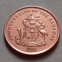 1 цент, Багамские острова (Багамы) 2014 г., UNC