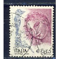 2004 ИТАЛИЯ Стандарт Женщины в искусстве Живопись Тициан (Mi.2947), гаш