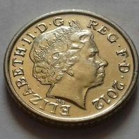 5 пенсов, Великобритания 2012 г.
