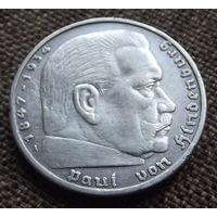 Германия. 5 марок 1936
