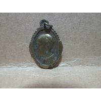 Медаль жетон образок католический Папа Римский Пий 12-й.нач.20-го века.Ватикан,Италия.