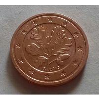 2 евроцента, Германия 2013 G, UNC