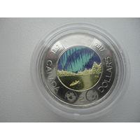 Канада 2 доллара 2017 г.150 лет конфедирации .монета из ролла