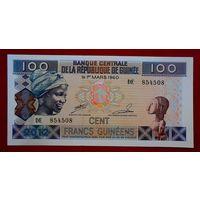 Гвинея, 100 франков, 2012 г., UNC