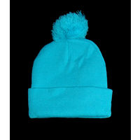 Ярко голубая детская шапочка фирмы Твоё на мальчика либо подростка, шерстяная, новая