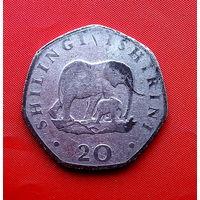 82-07 Танзания, 20 шиллингов 1992 г.