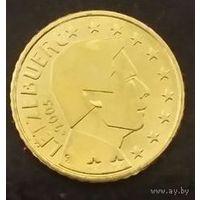 50 евроцентов 2005 Люксембург UNC из ролла