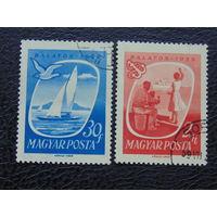 Венгрия 1959г. Озеро Балатон.