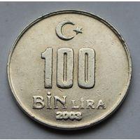 Турция, 100.000 лир 2003 г.