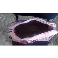 Дорожная сумка фиолетовая спортивная