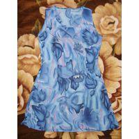 Платье р.44-46, ослепительный голубой