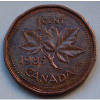 Канада, 1 цент 1985 г.
