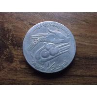 Тунис 1/2 динара 1997