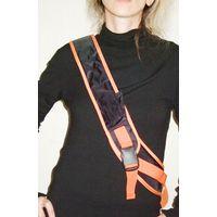 Рюкзак чёрно-оранжевый