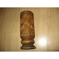 Резная деревянная ваза (Очень шикарная)