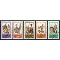 Гренада /1977/ Серебряный Юбилей Королевы / 5 марок