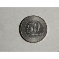 Ангола 50 сантимов 2012г UNC