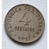 Португалия 4 сентаво, 1917 4-8-18