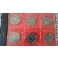 50 центов Австралия (17 монет) ЛУЧШАЯ ЦЕНА!