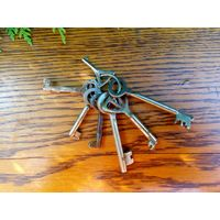 Ключи старые связка