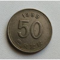 50 Вон 1989 (Южная Корея)