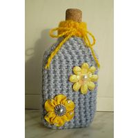 Декоративная бутылка (0,2 литра) - Цветочное утро