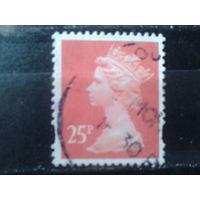Англия 1993 Королева Елизавета 2  25 пенсов