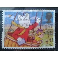 Англия 1994 Персонжи детской сказки, полет на воздушном шаре
