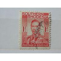 Северная Родезия 1937 г. Король Георг -VI.