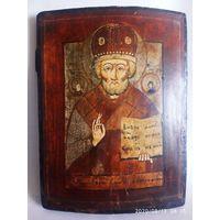 Икона Николай Чудотворец 19 век Обмен