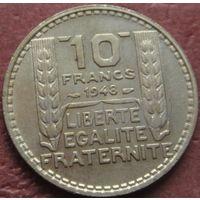 283:  10 франков 1948 Франция