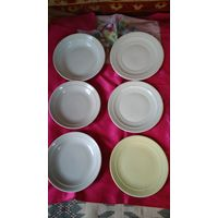 Тарелки СССР, тарелки с армейской столовой.
