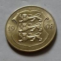 1 крона, Эстония 1998 г.