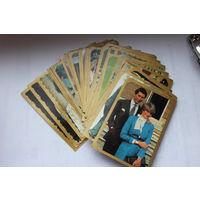Коллекционные карточки  принцессы Дианы