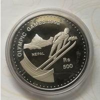 Непал 500 рупий 1992 г