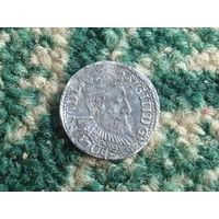 Трояк 1598г. распродажа коллекции с 1 рубля , смотрите другие мои лоты !