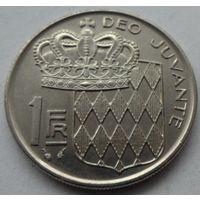 Монако 1 франк 1982 года. Состояние!