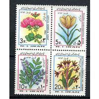 Иран - 1984 - Цветы. Иранский новый год. Первый день весны - сцепка - [Mi. 2068-2071] - полная серия - 4 марки. MNH.