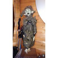 Кукла Тролль 60 см. Ручная работа. Винтаж.