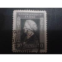Нидерландская Индия 1933 Колония королева Вильгельмина