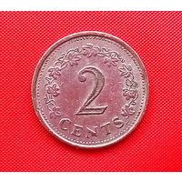 55-16 Мальта, 2 цент 1977 г.