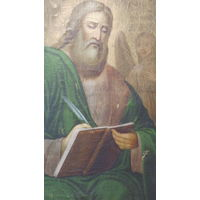 Апостол Матвей -старинная икона- (1800-1830) - *65х90см/ холст/масло