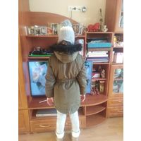 Куртка парка на девочку 8-9 лет из Англии