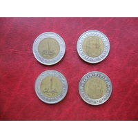 1 фунт 2008 год Египет (о)