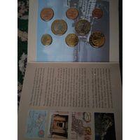 Набор пробников евромонет Мальты 2004