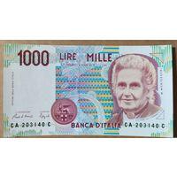 1000 лир 1990 года - Италия - UNC