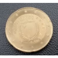 20 центов 2008 Мальта